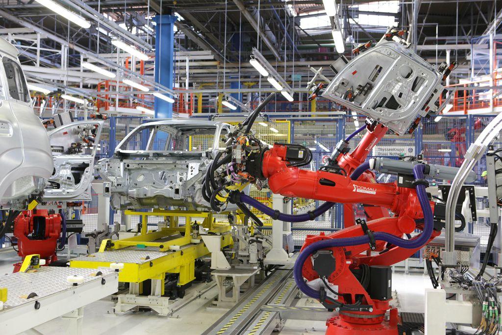 Produkcja automotive na postoju