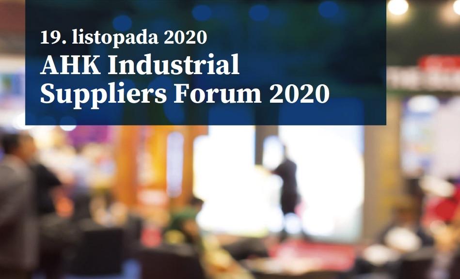 AHK Industrial Suppliers Forum 2020 największe wirtualne targi