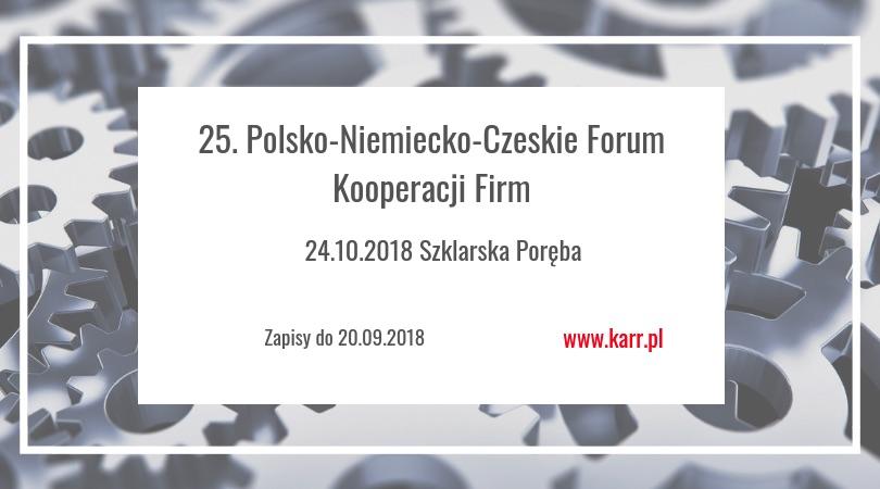 25. Polsko-Niemiecko-Czeskie Forum Kooperacji