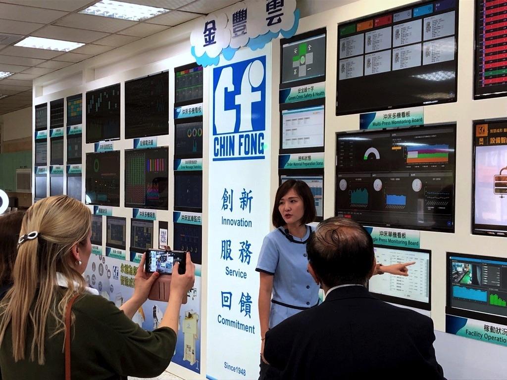 Przemysł maszynowy na Tajwanie - Chin Fong Machine Industrial Co.