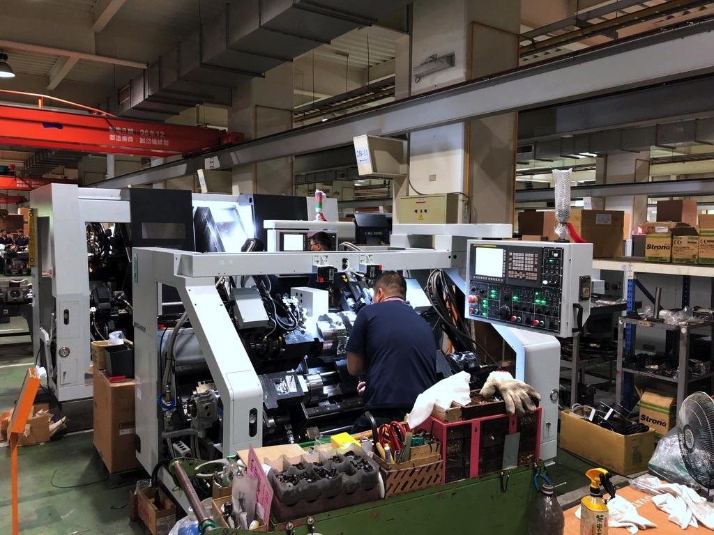 Przemysł maszynowy na Tajwanie - GOODWAY