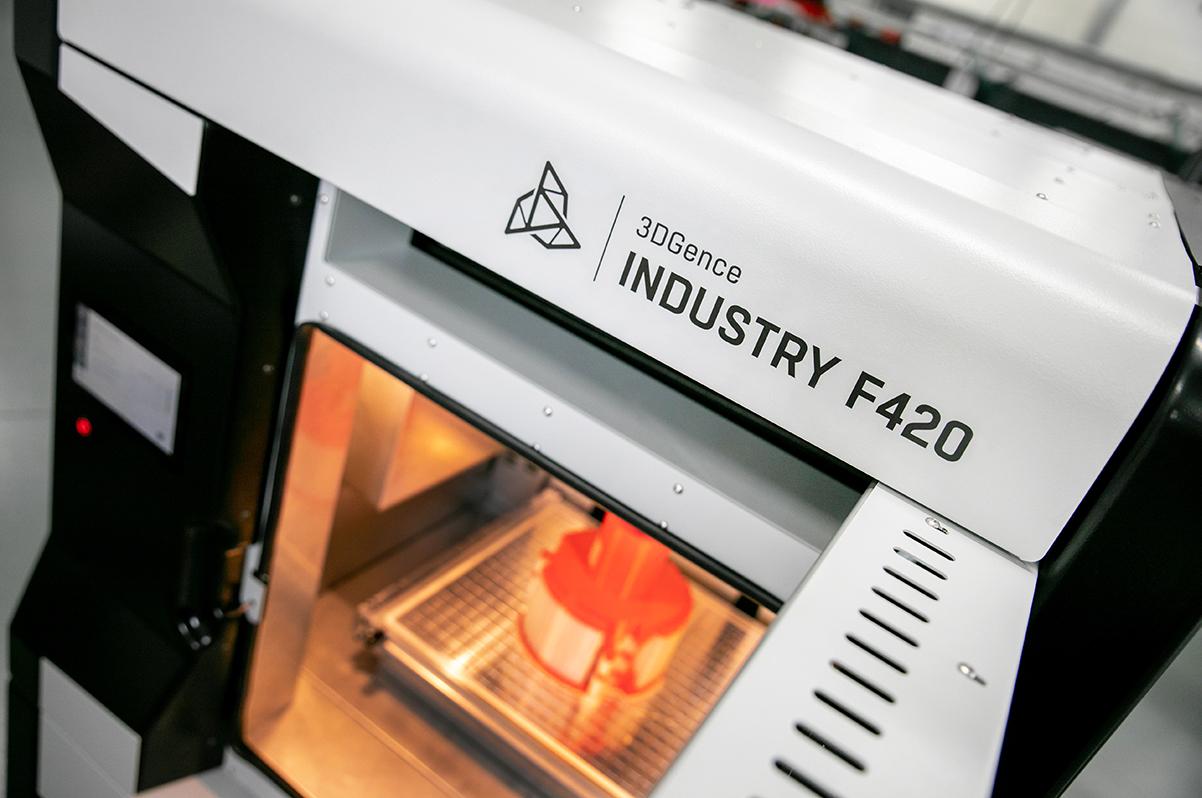 Szybka i bezpieczna produkcja części w 3D