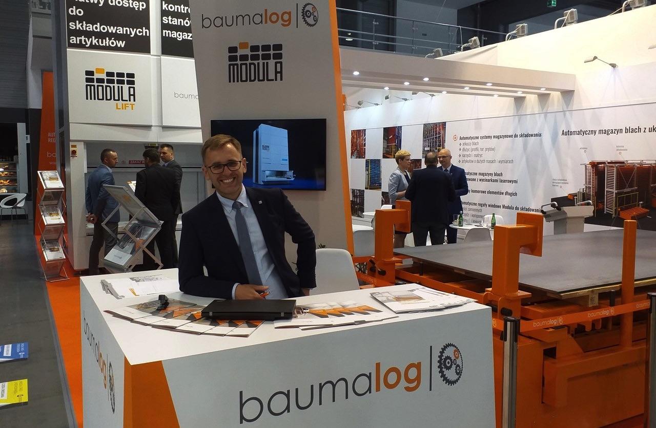 Automatyczne systemy magazynowe Baumalog na targach ITM