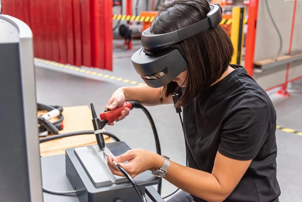 gogle VR Symulator Virtual Welding