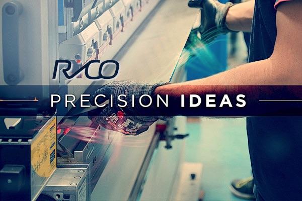 RICO typ PRCE 1040 Prasa krawędziowa elektryczna