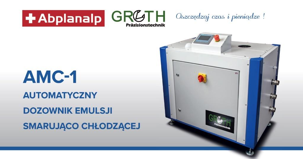 Dozownik emulsji chłodząco-smarującej GROTH AMC-1