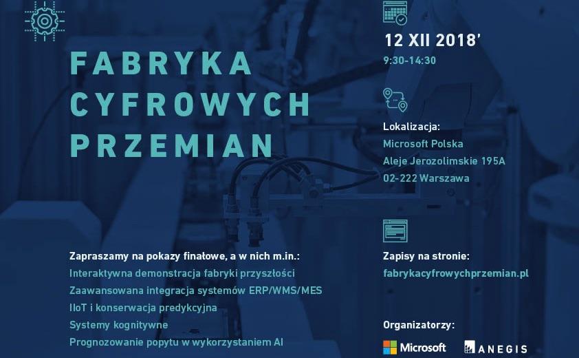 Startuje projekt Fabryka Cyfrowych Przemian