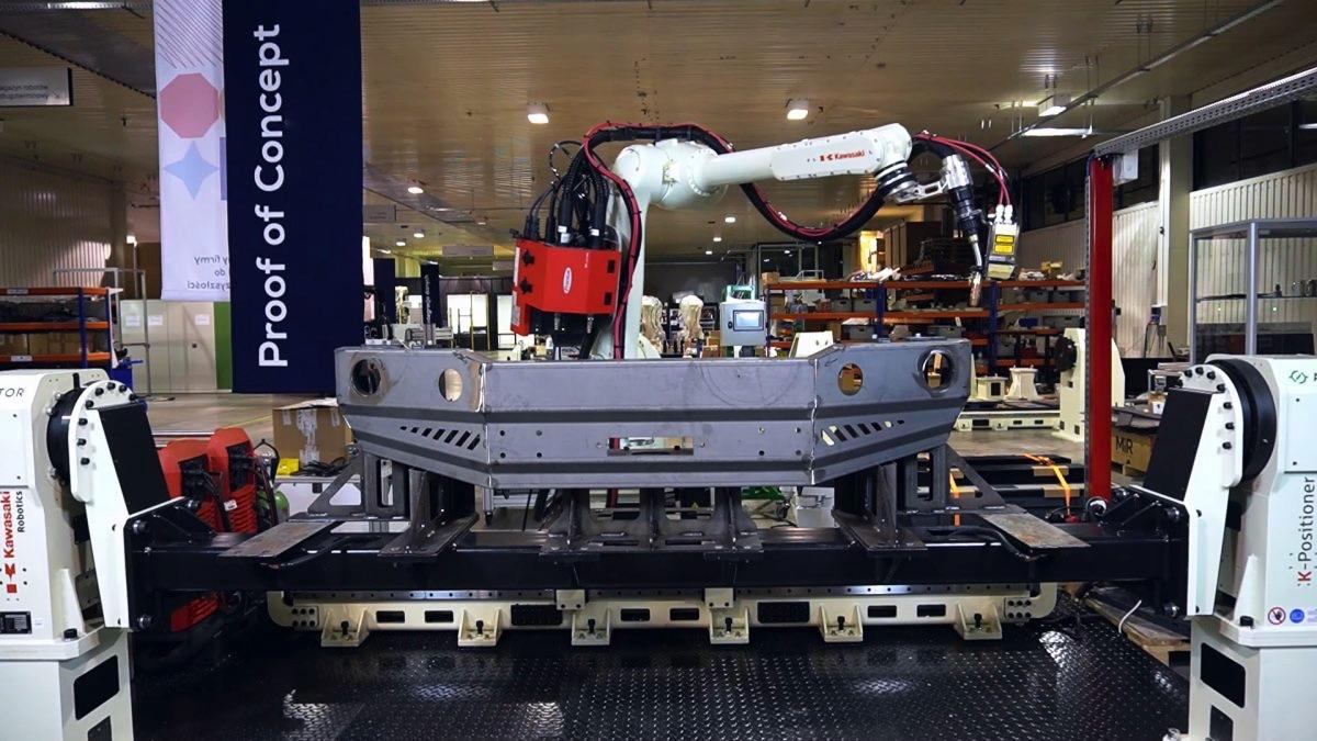 ASTOR Robotics Center zrobotyzowane spawanie kawasaki robotics
