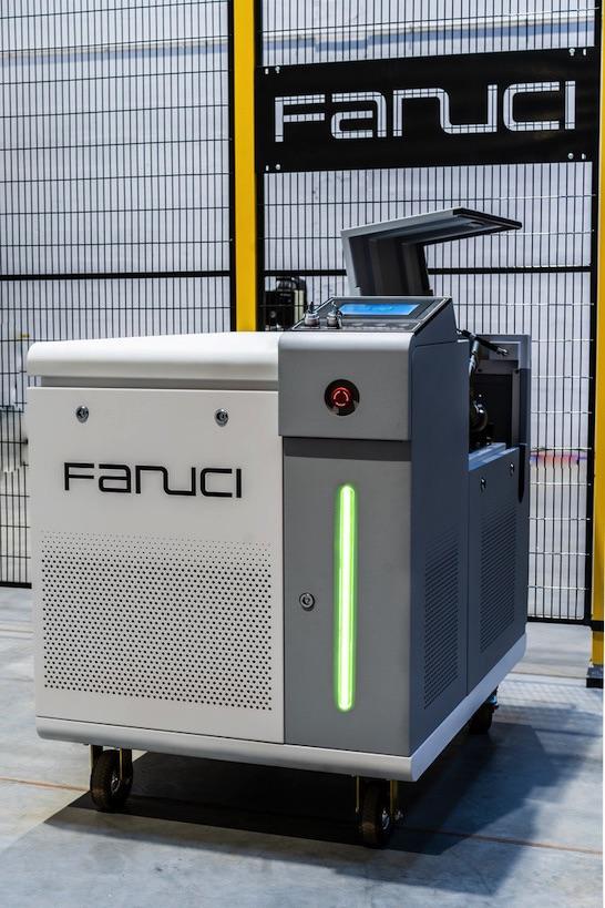 Fanuci Spawarka laserowa