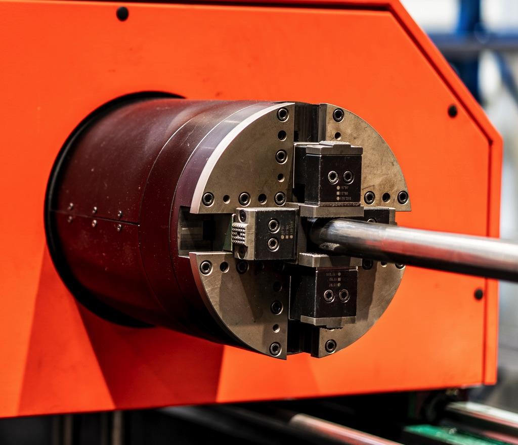 Wycinarki laserowe DNE Bystronic do rur i profili obrotnica