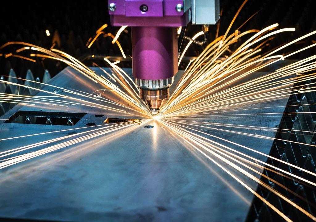 Wycinarki laserowe DNE Bystronic głowica tnąca