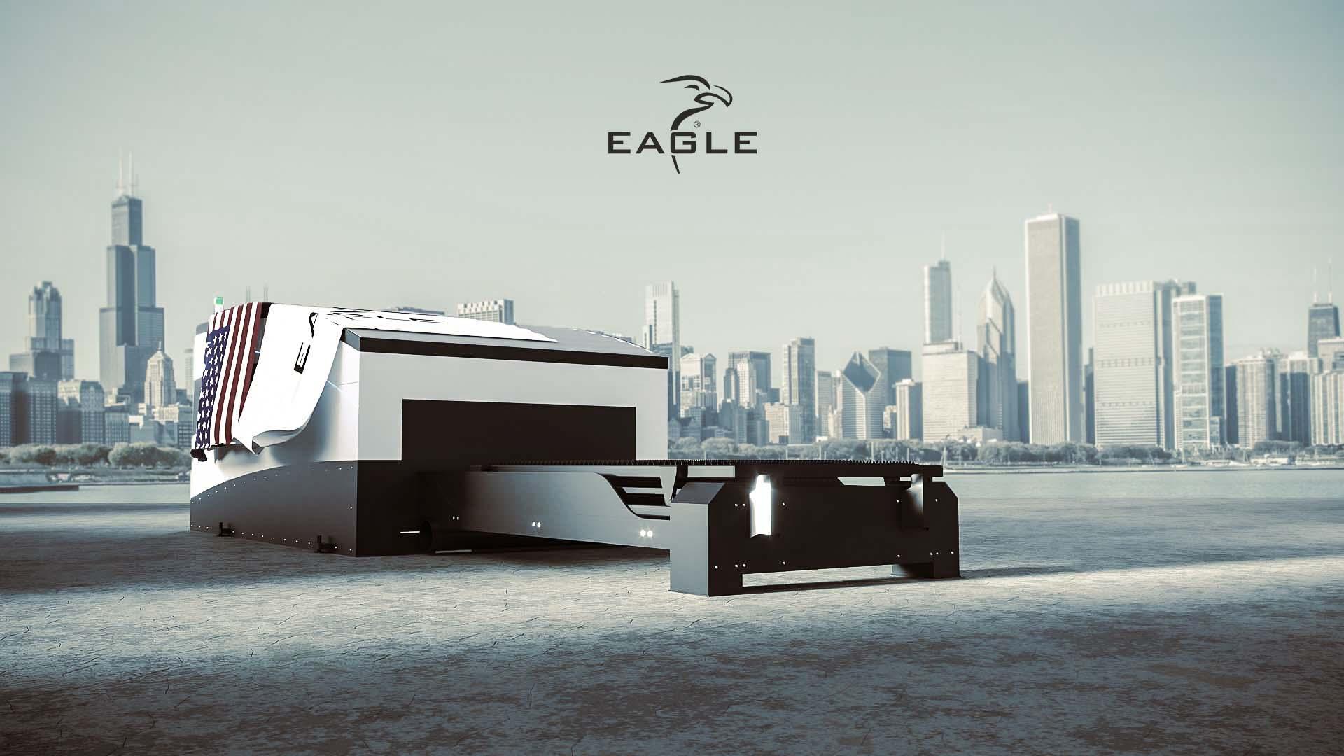 EAGLE LASER z 20kW laserem fiber na FABTECH 2021