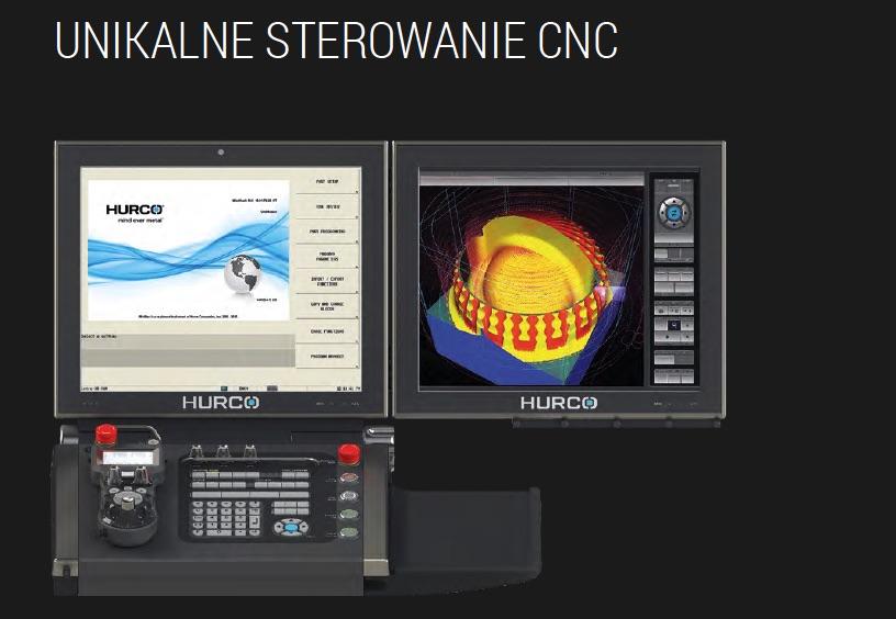 UNIKALNE STEROWANIE CNC HURCO