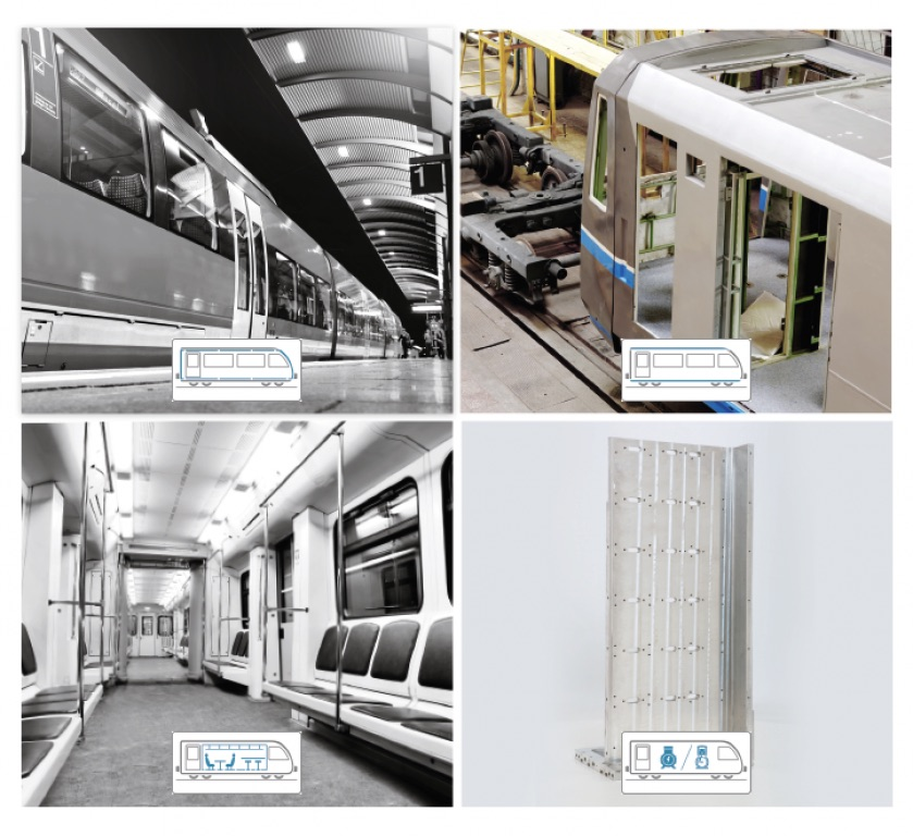 Aluminium w pociagach - HydroExtrusionPoland