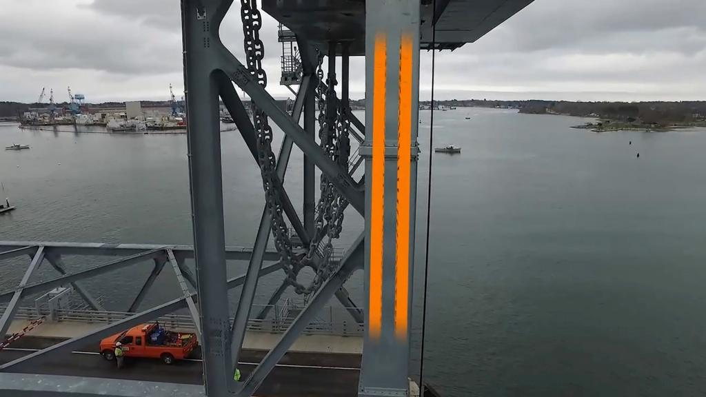 E-prowadniki igus podnoszą mosty