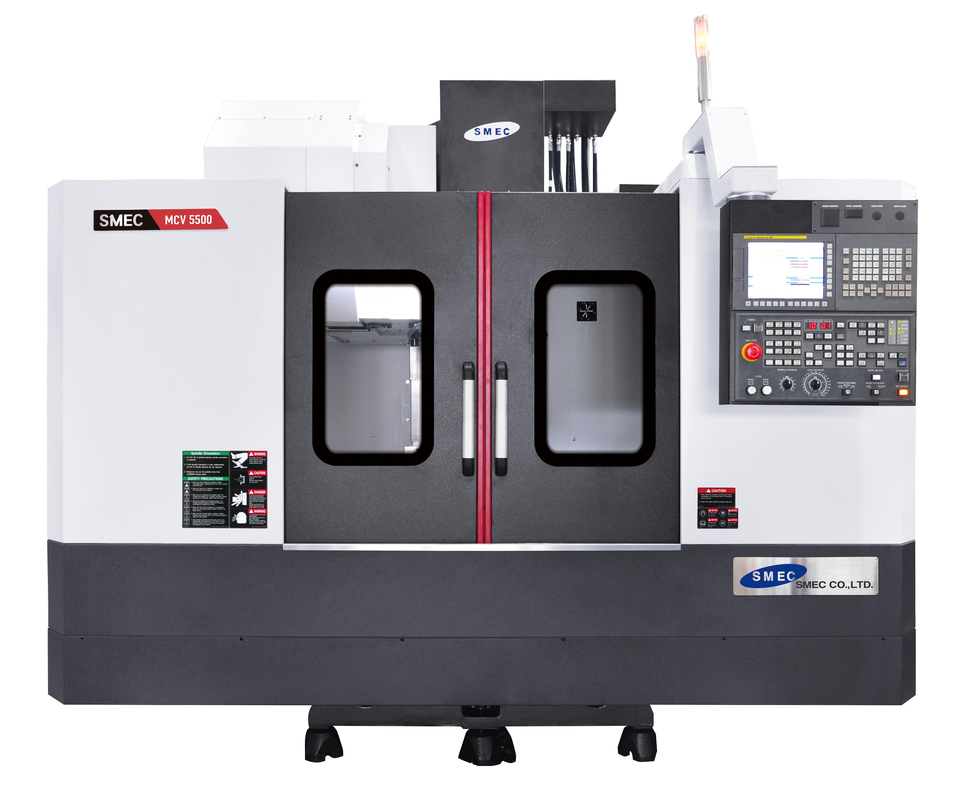 Obrabiarki CNC SMEC