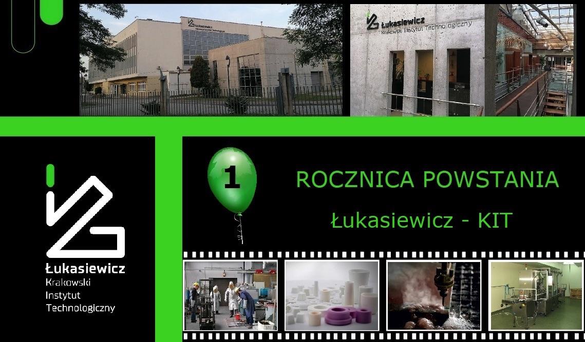 Łukasiewicz - Krakowski Instytut Technologiczny pierwszy rok