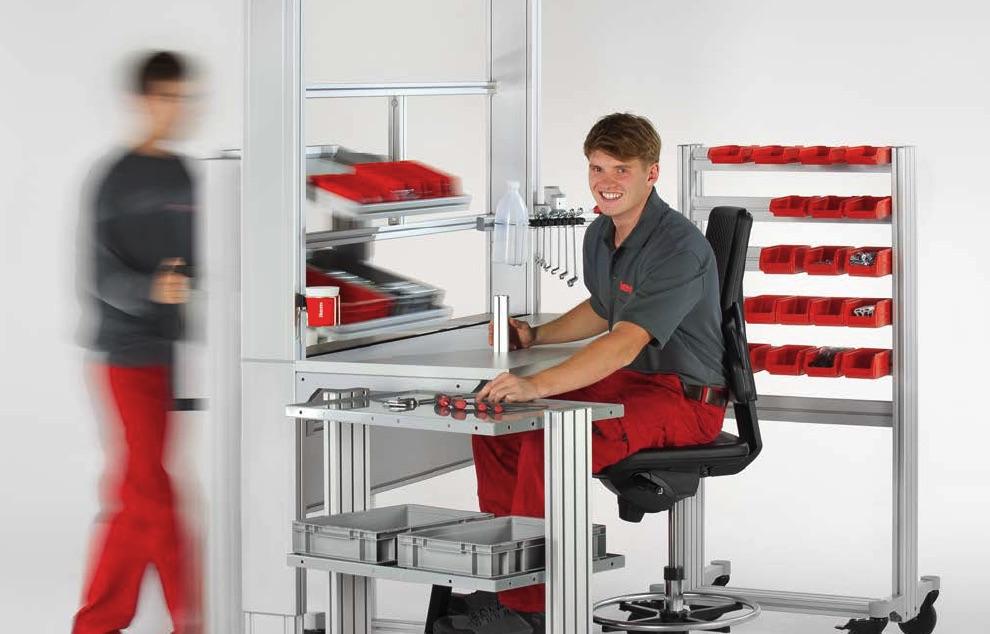 Ergonomiczne stanowiska pracy w przemyśle