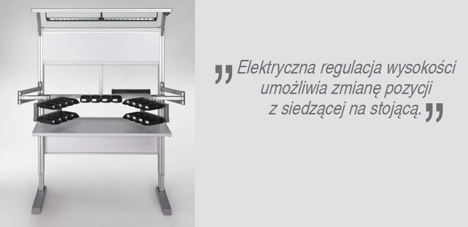 item - regulacja elektryczna stołu