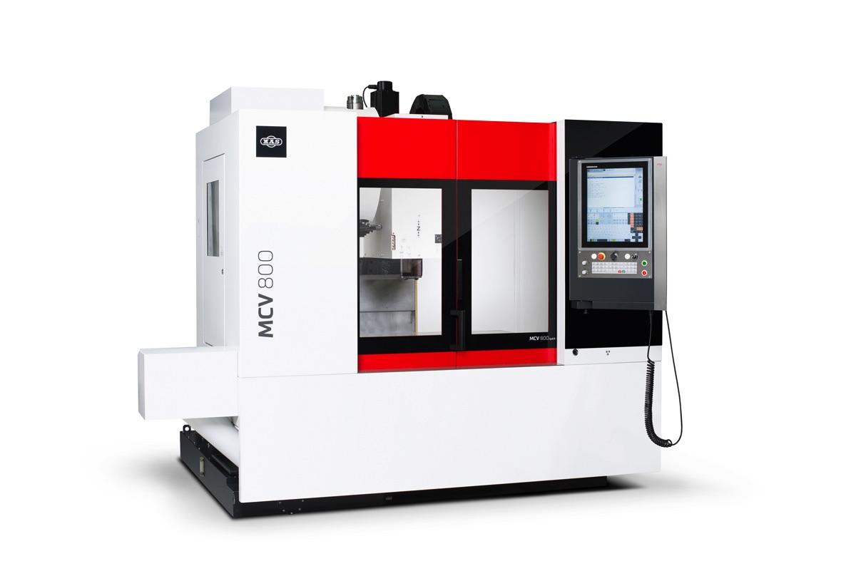 MCV 800 Quick  - idealna trójosiowa frezarka