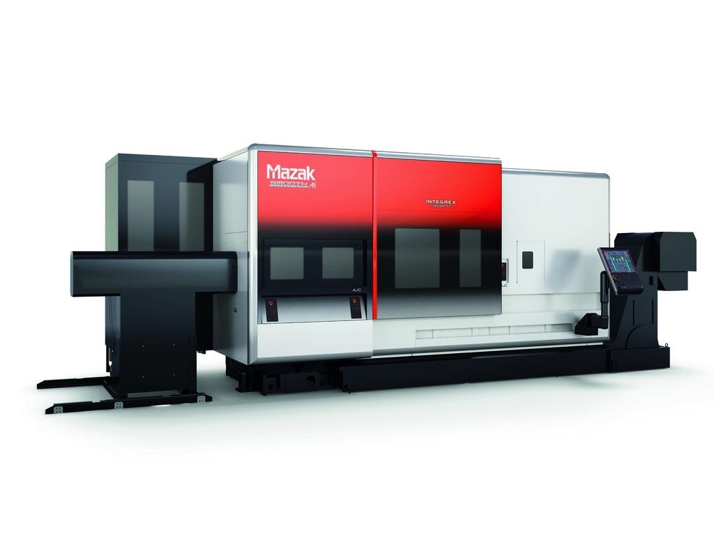 Maszyna z serii INTEGREX i-H firmy Yamazaki Mazak