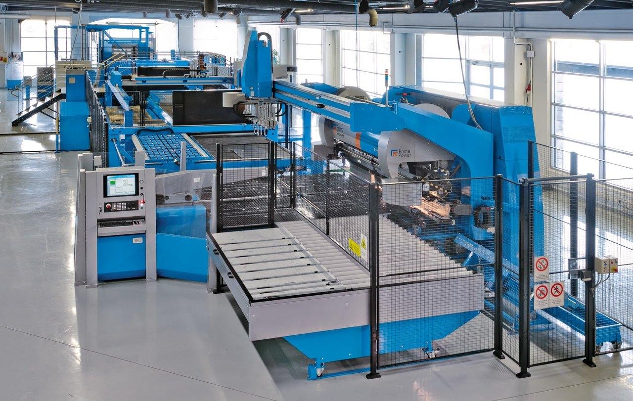 Linia PSBB – seryjna i jednostkowa produkcja z cienkich blach