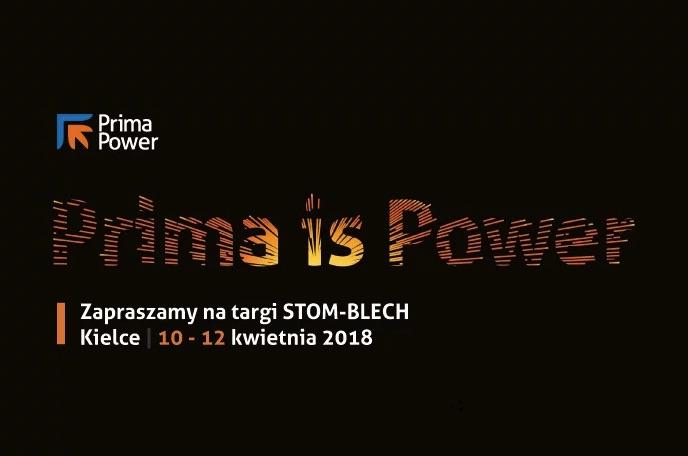 Prima Power wystawcą na targach STOM