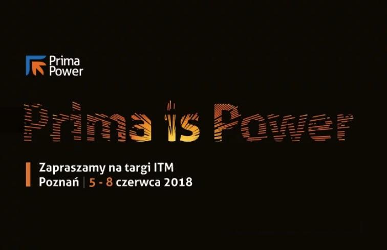 Prima Power Central Europe w Poznaniu na ITM