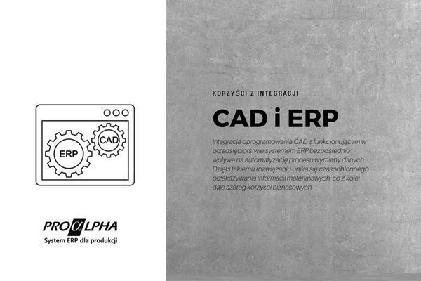 Korzyści z integracji CAD i ERP