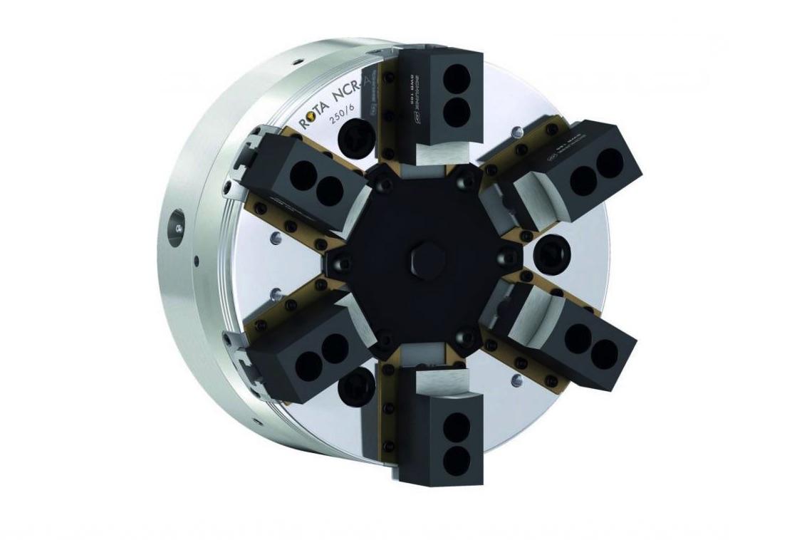 Precyzyjne mocowanie pierścieni i odlewów z ROTA NCR-A