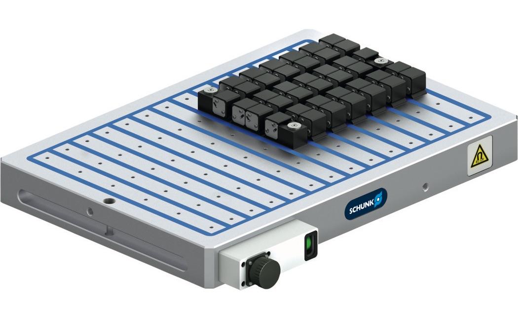 Technologia mocowania magnetycznego SCHUNK_MAGNOS-MFPS
