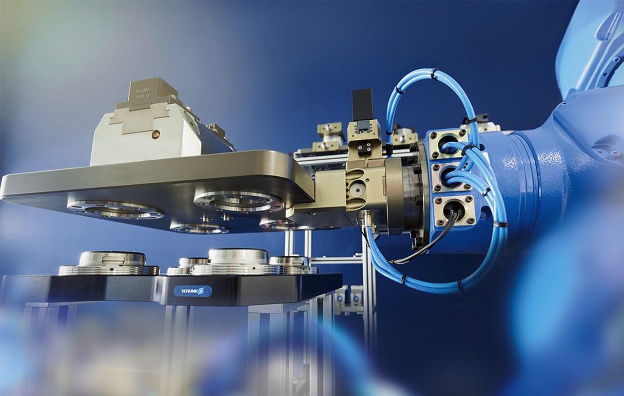 Systemy automatycznej paletyzacji Schunk