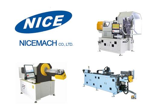 Nicemach - automatyczne giętarki do drutu, rur i sprężyn