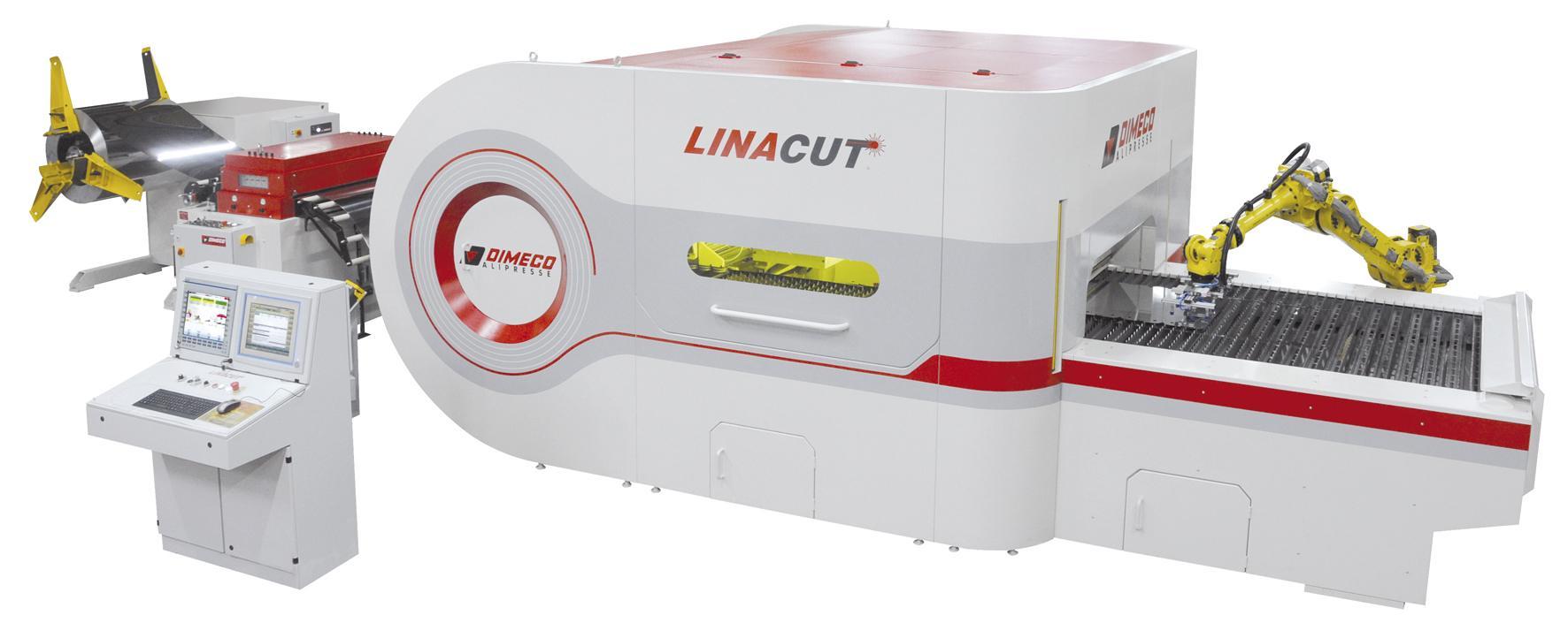Cięcie laserem z kręgu blachy LINACUT® by DIMECO.