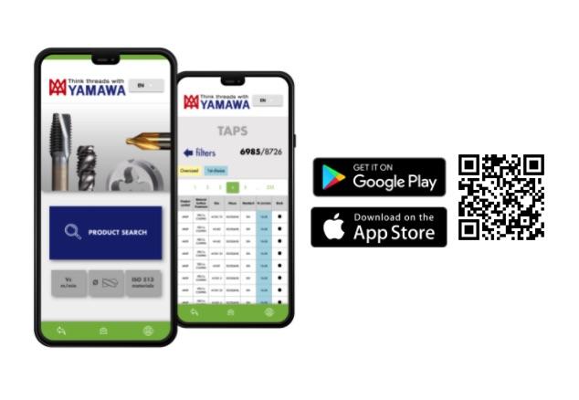 Aplikacja Tool Finder Yamawa dostępna w Polsce