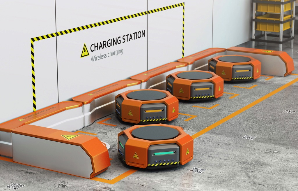 Roboty, roboty mobilne, platformy jezdne, roboty AGV