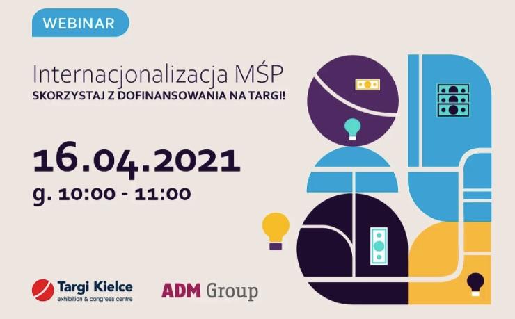 Internacjonalizacja MŚP webinar Targi Kielce