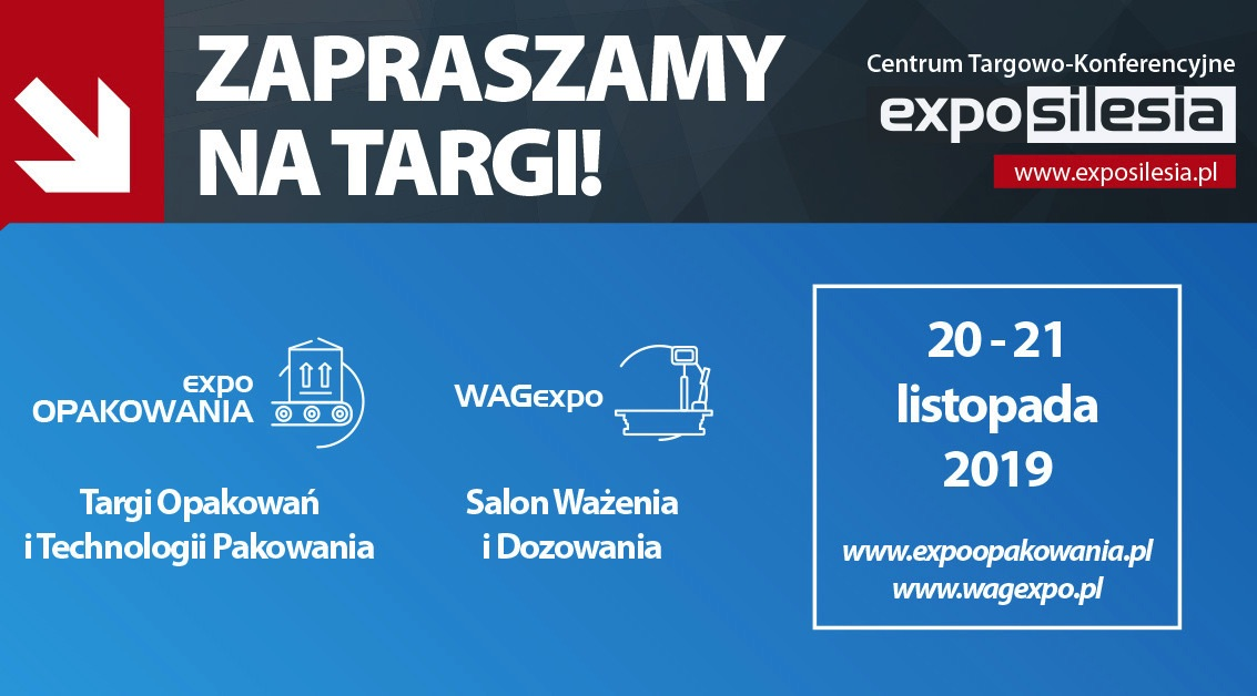 ExpoOPAKOWANIA 2019 zaproszenie