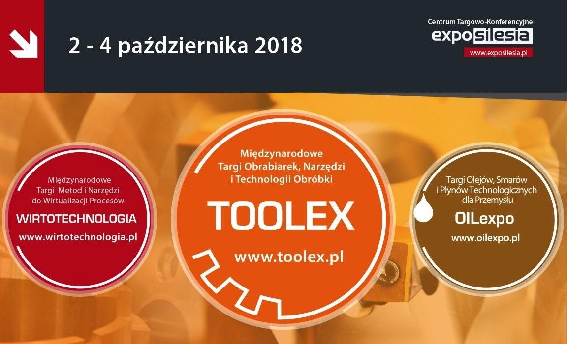 Targi Obrabiarek, Narzędzi i Technologii Obróbki TOOLEX 2018