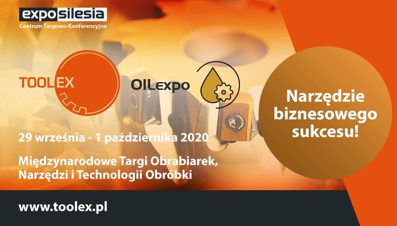 zaproszenie TOOLEX 2020 Expo Silesia