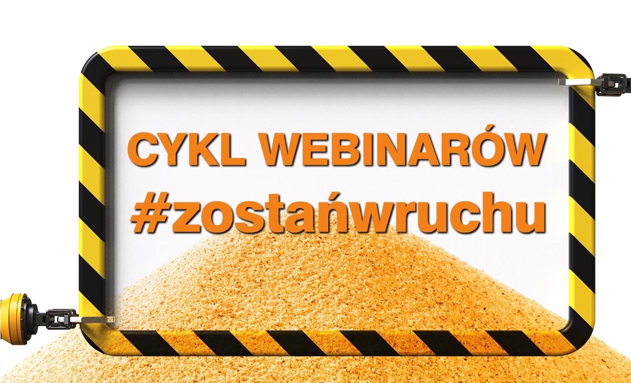 Targi w Krakowie cykl webinarów #zostańwruchu