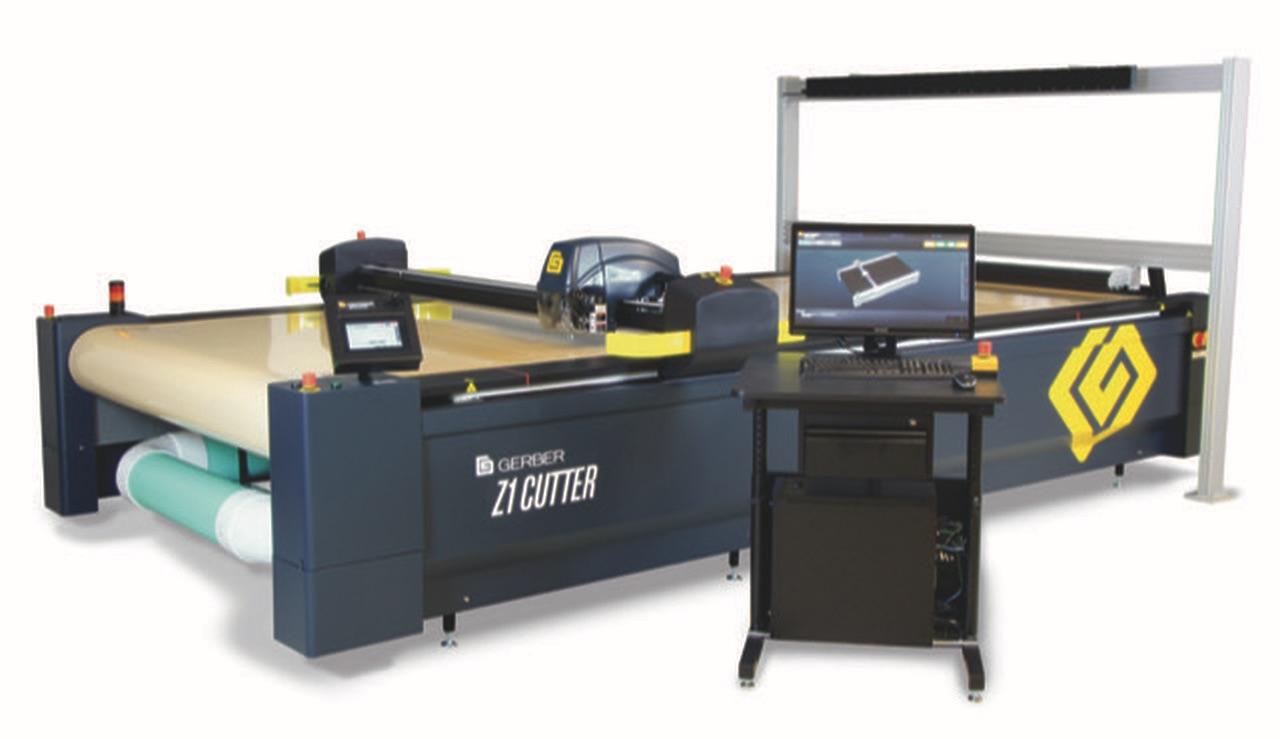 Gerber Technology Z1 Jednowarstwowy cutter do tkanin