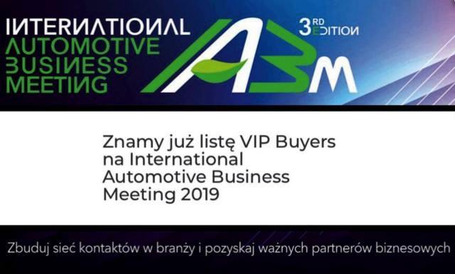 IABM2019 spotkanie branży motoryzacyjnej