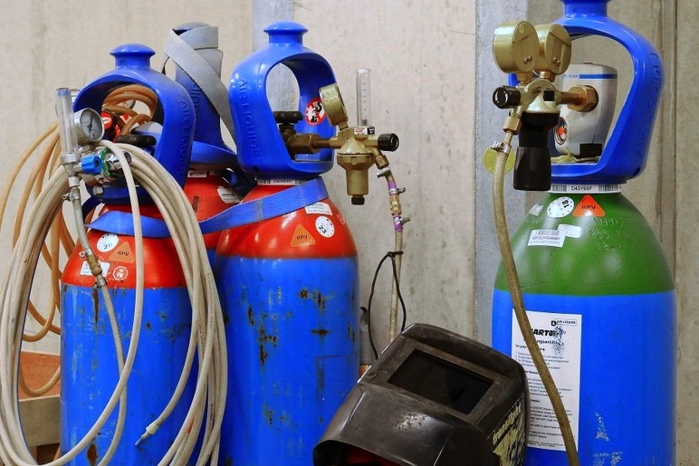 gazy techniczne w przemyśle